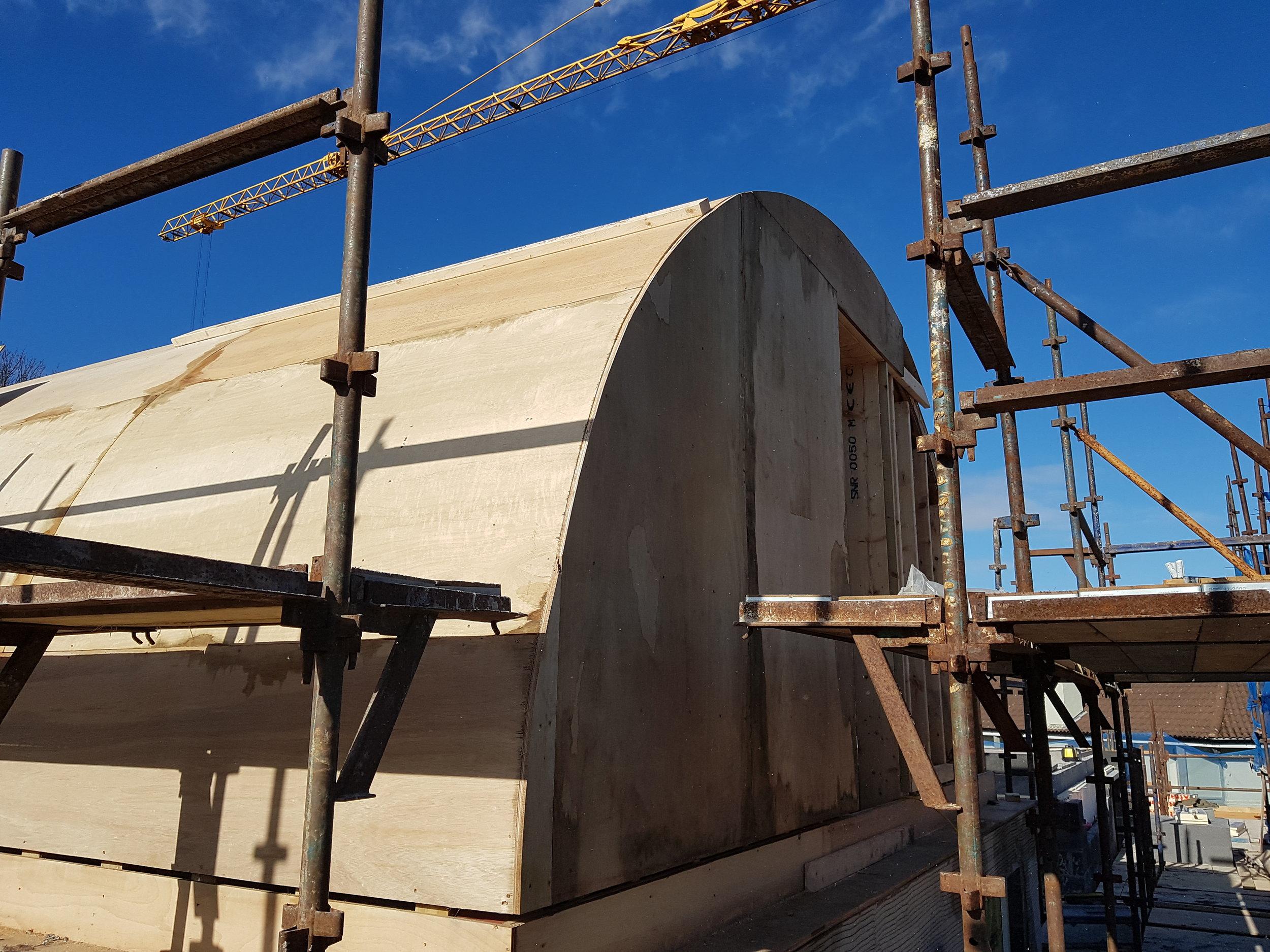 BARRELL ROOF CONSTRUCTION