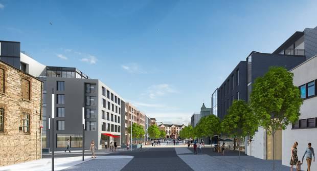 NEWMARKET SQUARE REDEVELOPMENT, DUBLIN