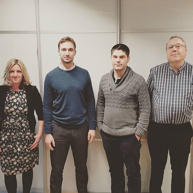 Some fresh faces brightening up the office since the New Year. Welcome Lara, Michael, Dan and Joe!