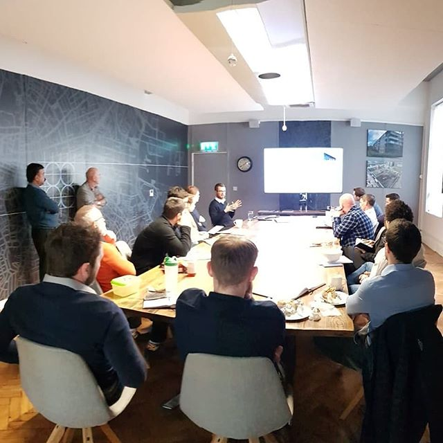 Thursday lunchtime CPD in full swing!  #csconsulting #engineers #engineering #property #dublin #architecture