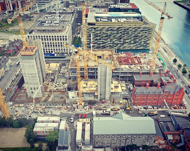 Great photo of progress on the Spencer Place development!  #csconsulting #spencerplace #engineering #engineers #civilengineering #structuralengineering