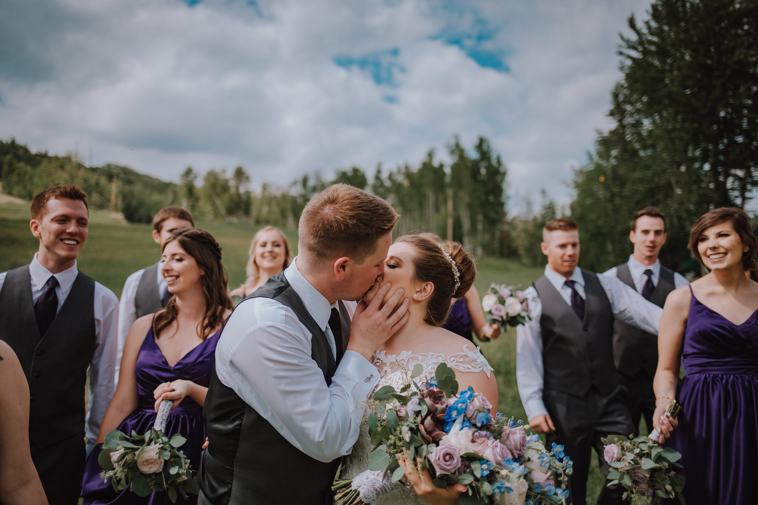 Elegance Package - The Elegant Wedding Package provides you and your significant other with everything in the Majestic package, but gives you the addition of your reception. Coverage is up till a half hour past your first dance, and must not exceed 7 hours.Investment: $2750 +gst
