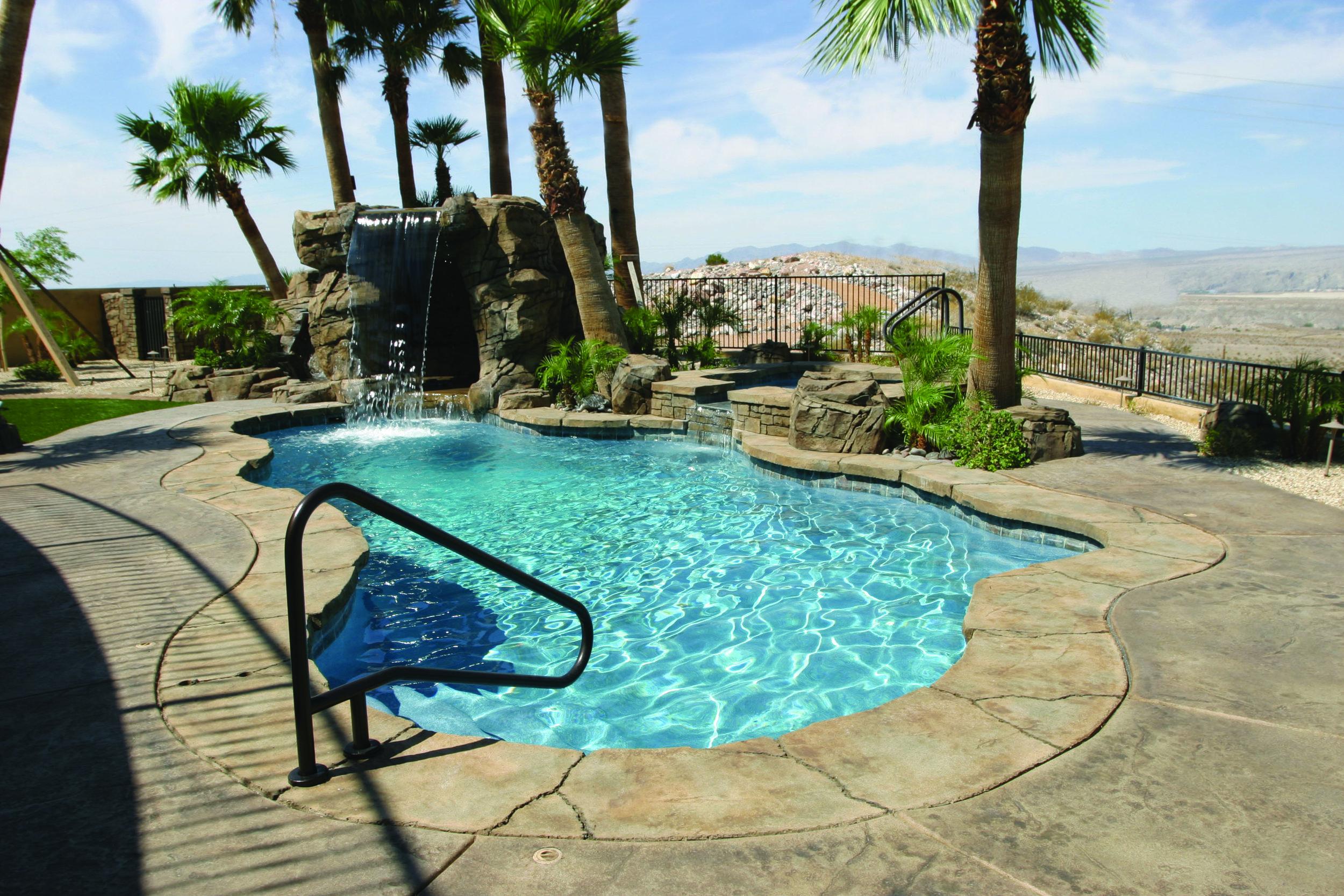 Inground Pool Cost Renaissance Pools Las Vegas