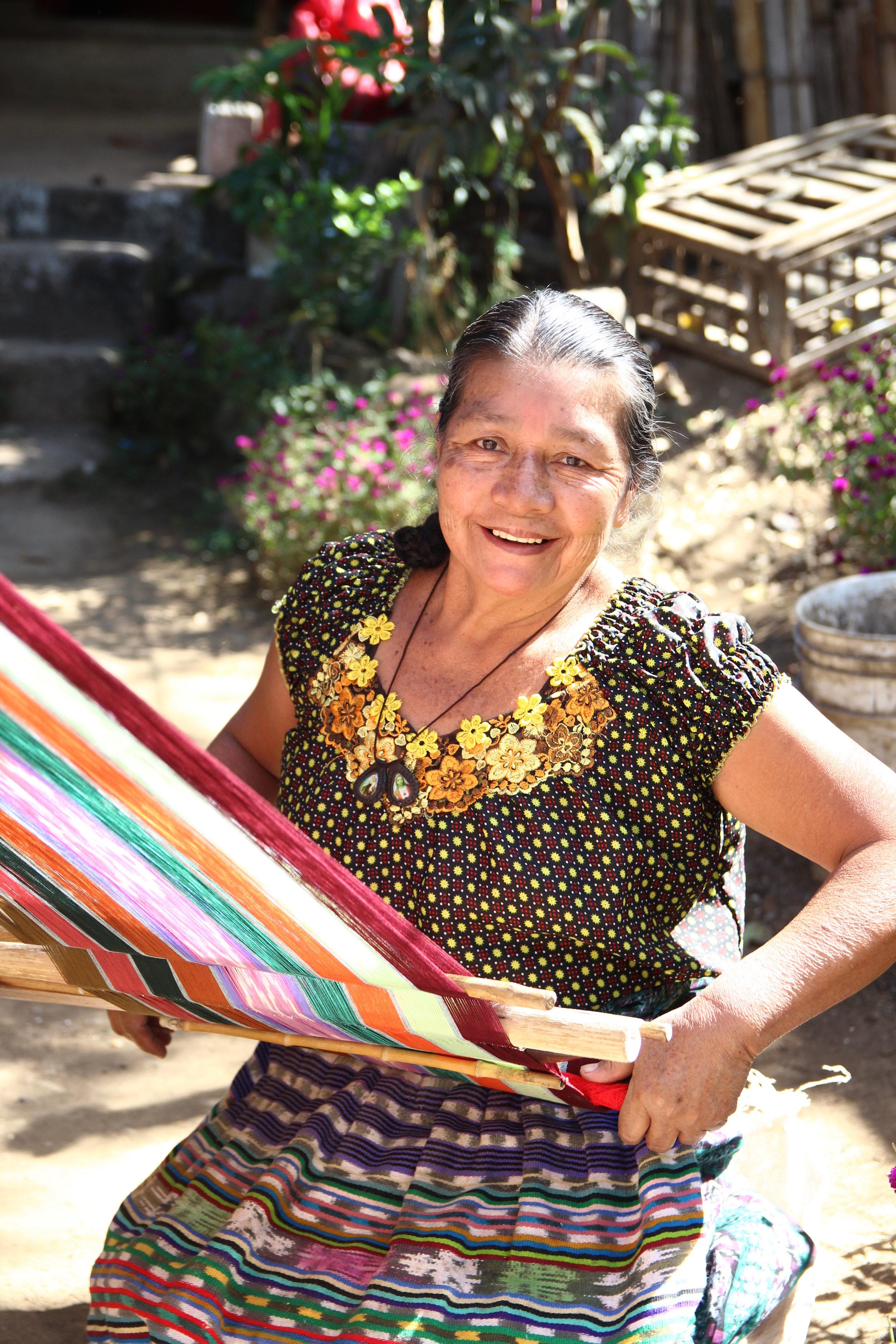 - Magdalena (weaver & founder)