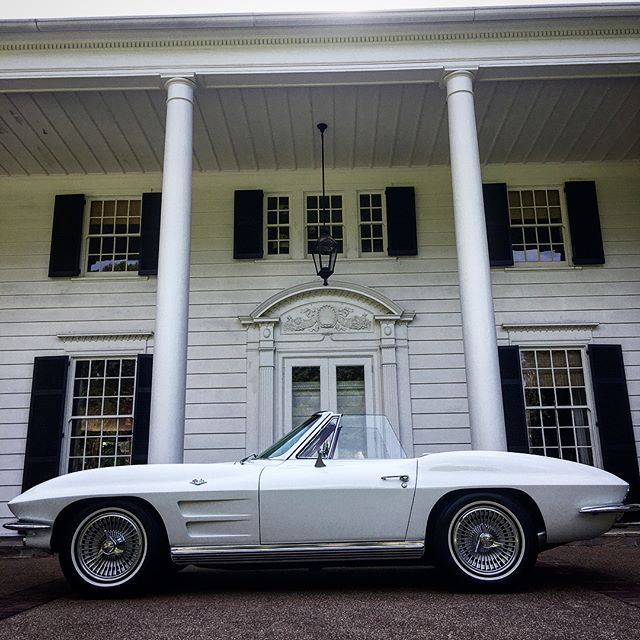 1964 Corvette Stingray Convertible.  Schedule your next detail at finelinecarcare.com