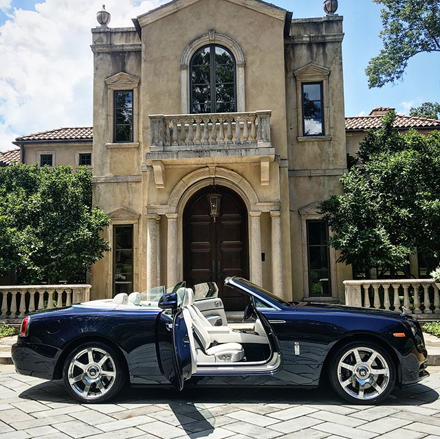 2018 Rolls Royce Dawn joined our  lineup today. What an incredible machine with unmatched craftsmanship.