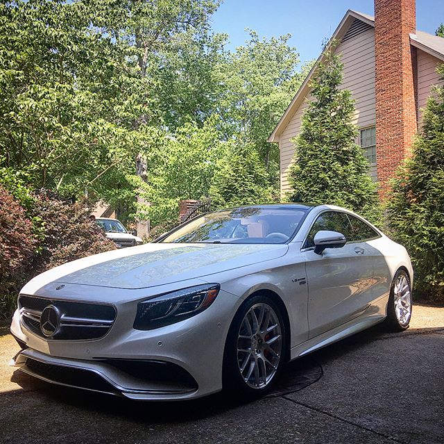 2017 Mercedes Benz RENNtech S63 AMG. We did a wash, wax and Hermés saddle leather treatment.