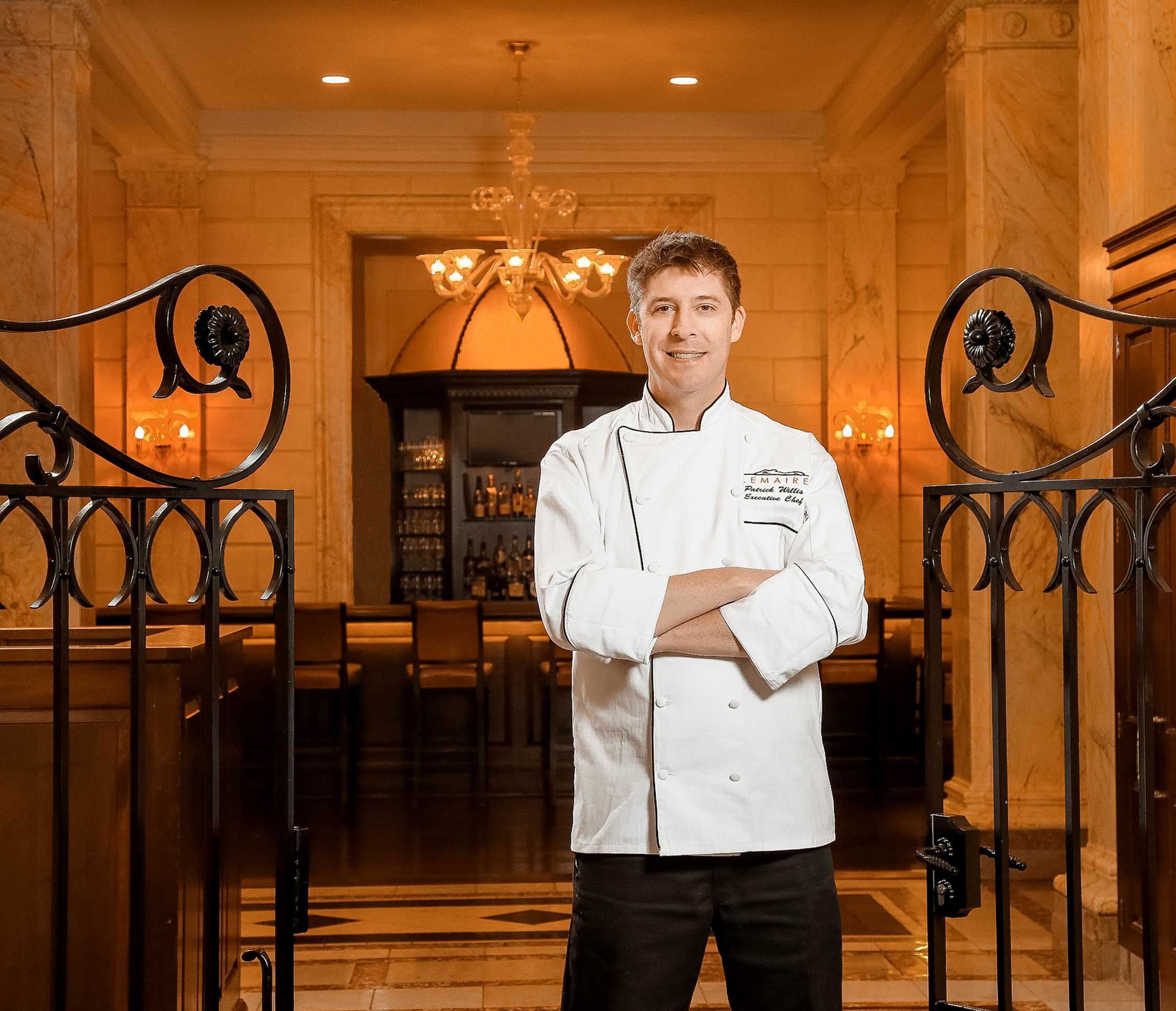 Chef Patrick Willis of Lemaire welcomes Chef Harper Bradshaw of Harper's Table