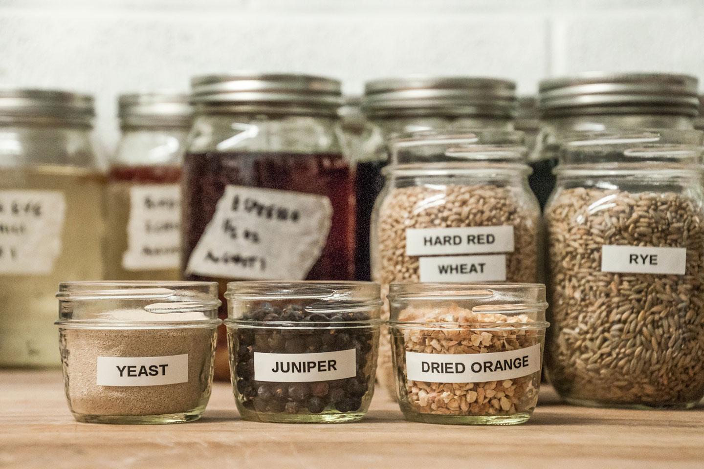 Park Distillery Gin Ingredients| Photo Credit: Anna Robi
