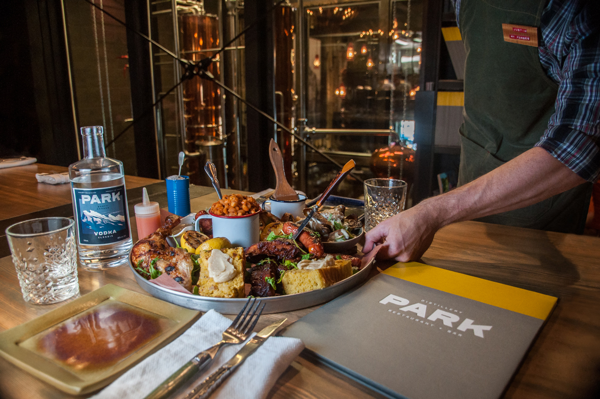 Park Distillery Restaurant & Bar Mess hall standard