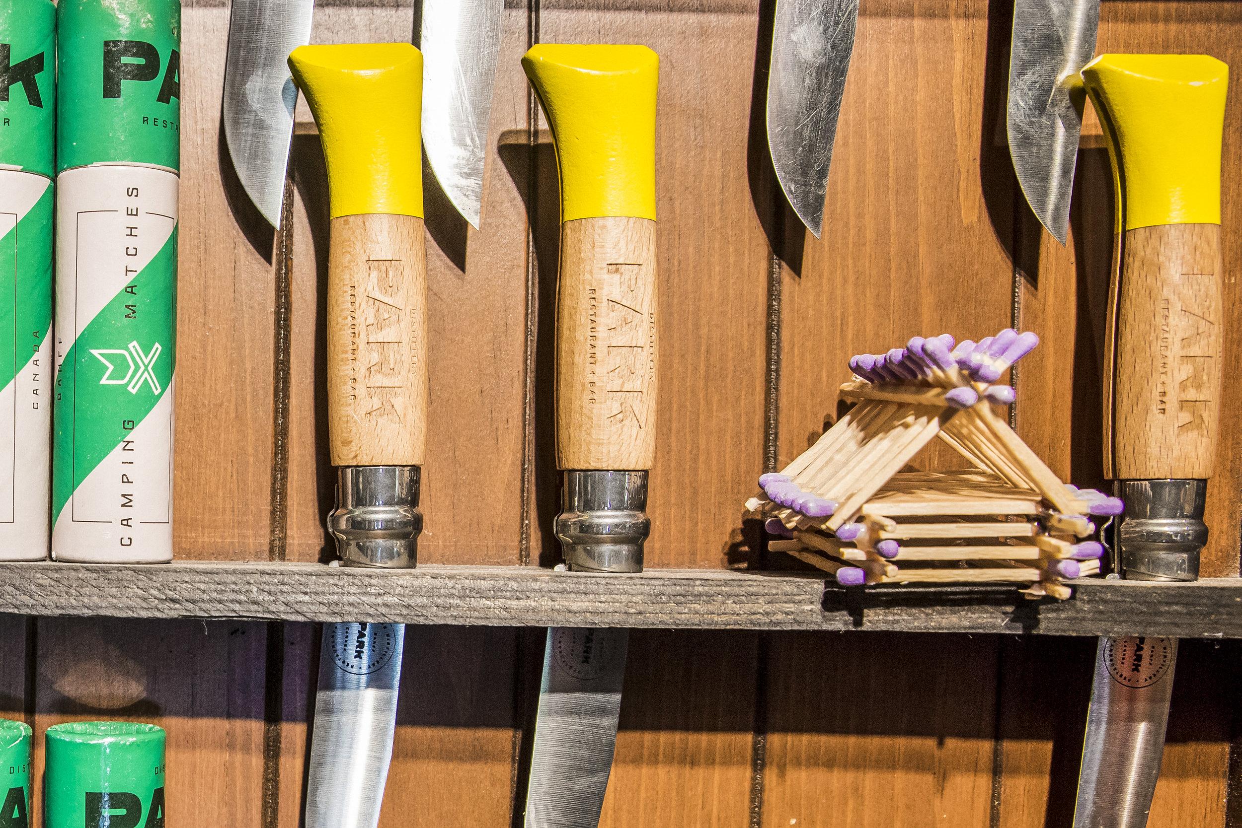 Park Distillery Hand made spirits shop