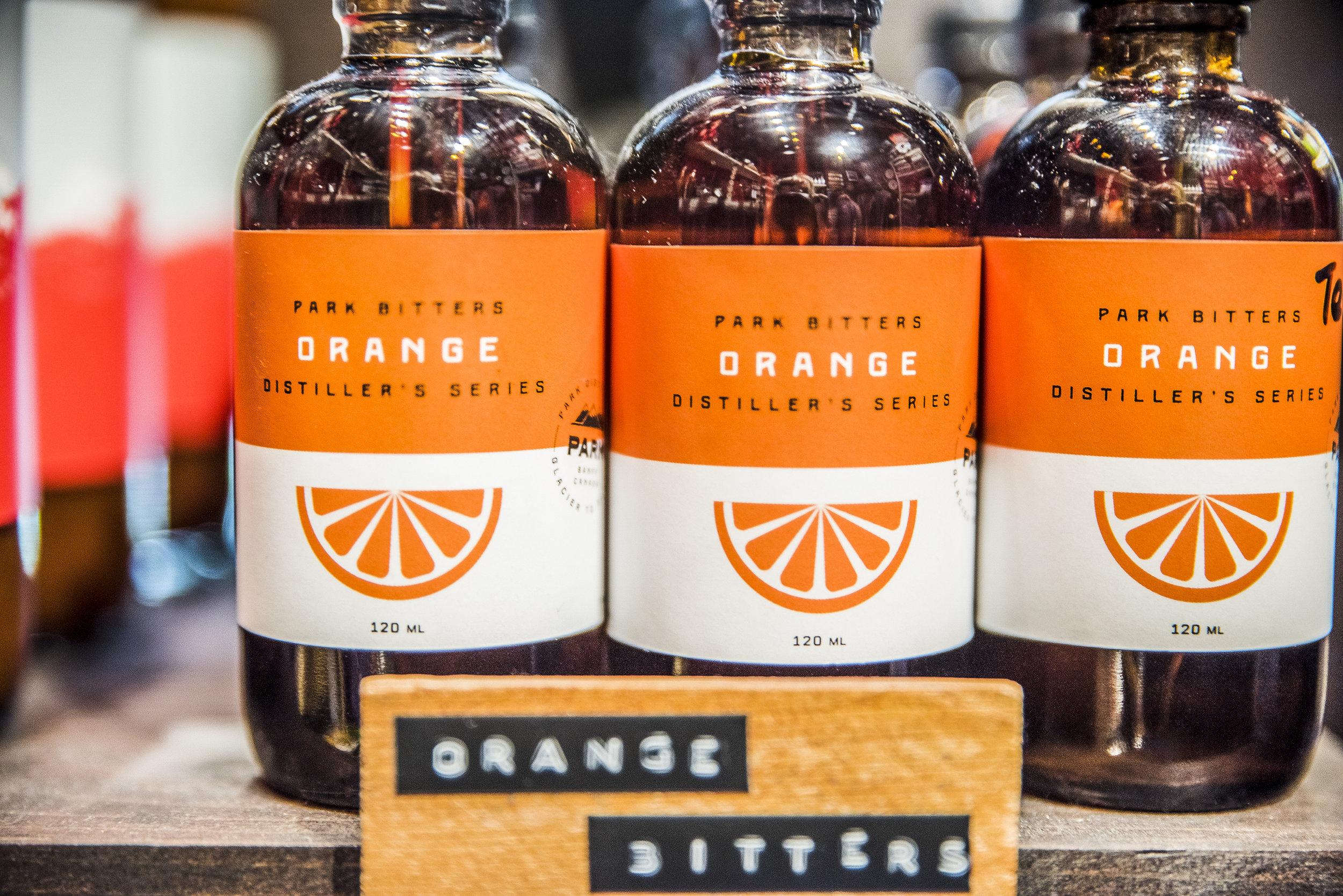 Park Distillery Hand made spirits Orange bitters