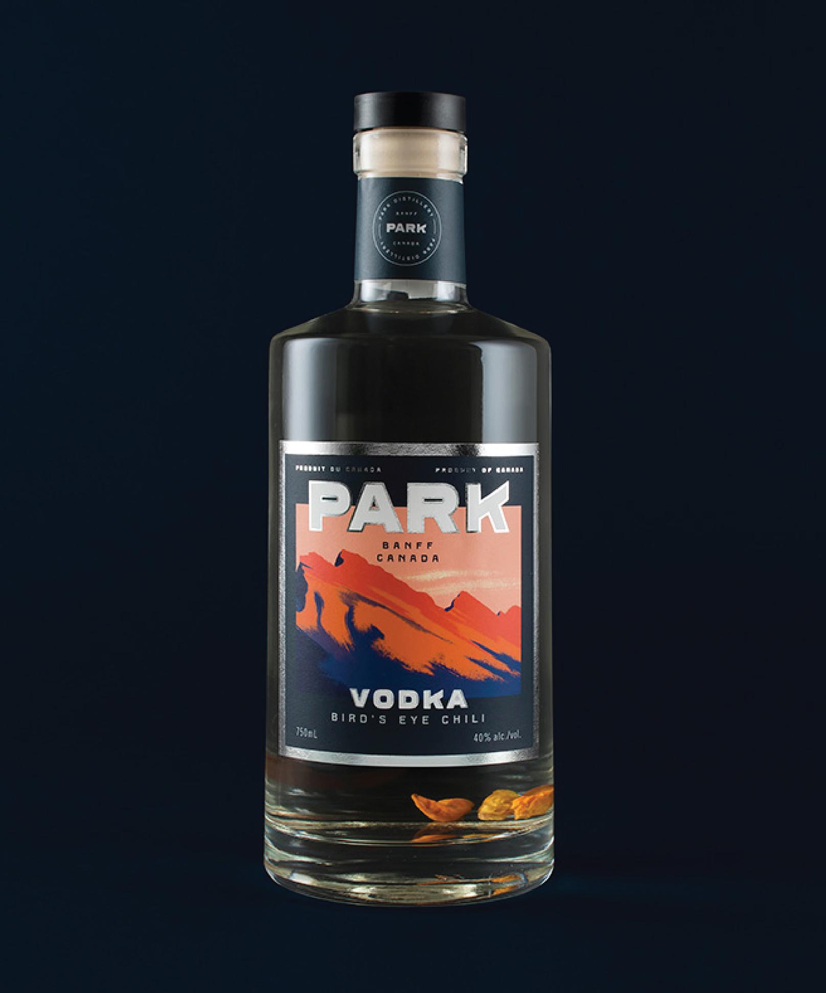 Park Bird's Eye Chili Vodka