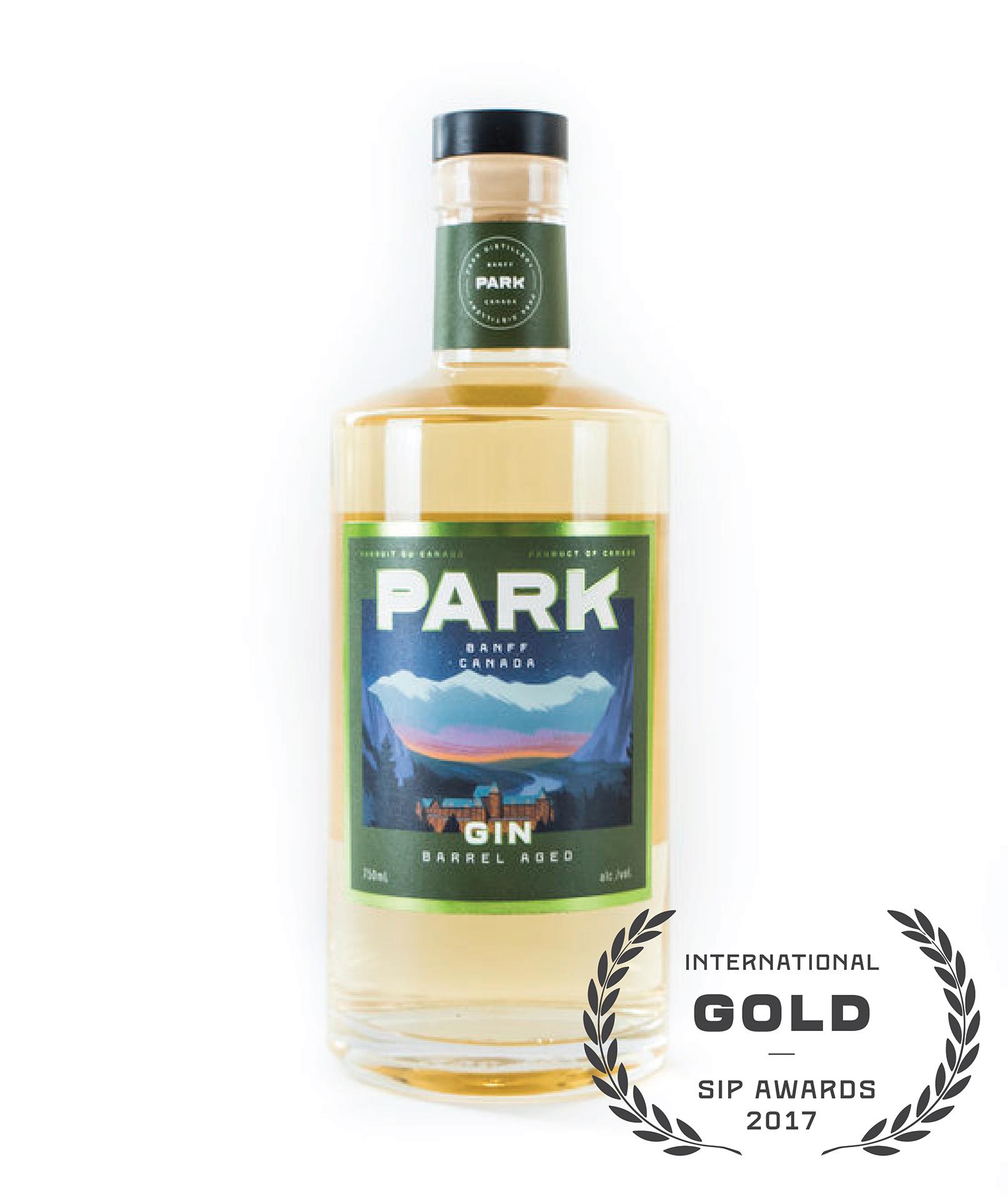 Park Barrel Aged Gin