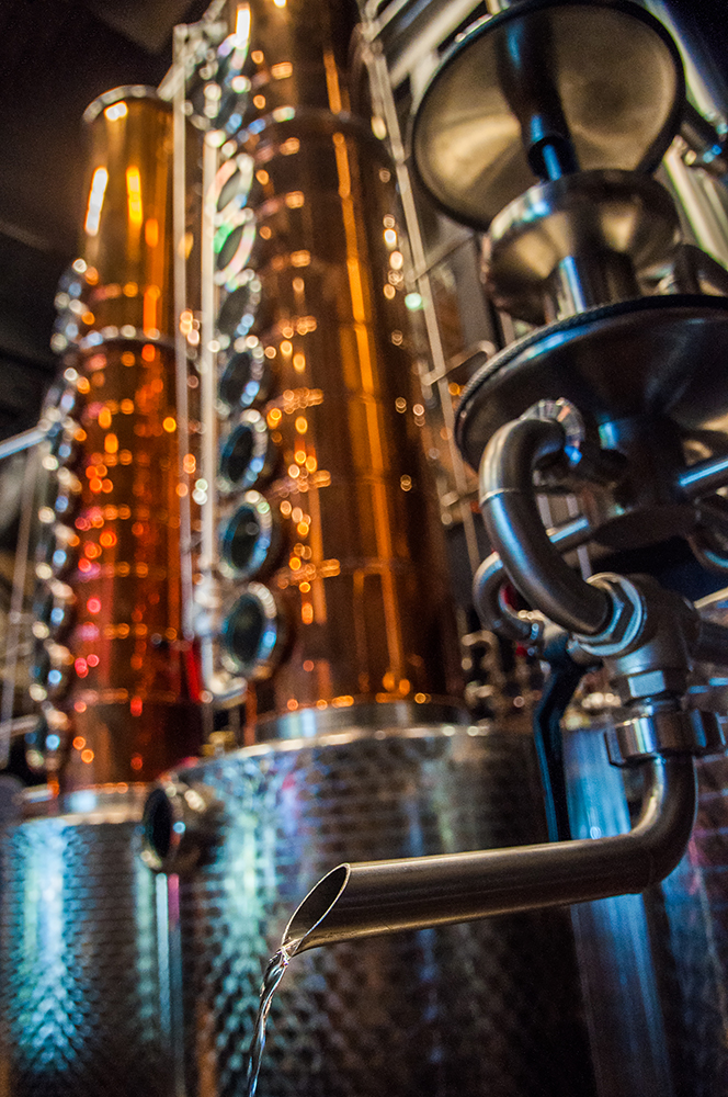Park Still Spout Pouring Vodka | Photo Credit: Anna Robi