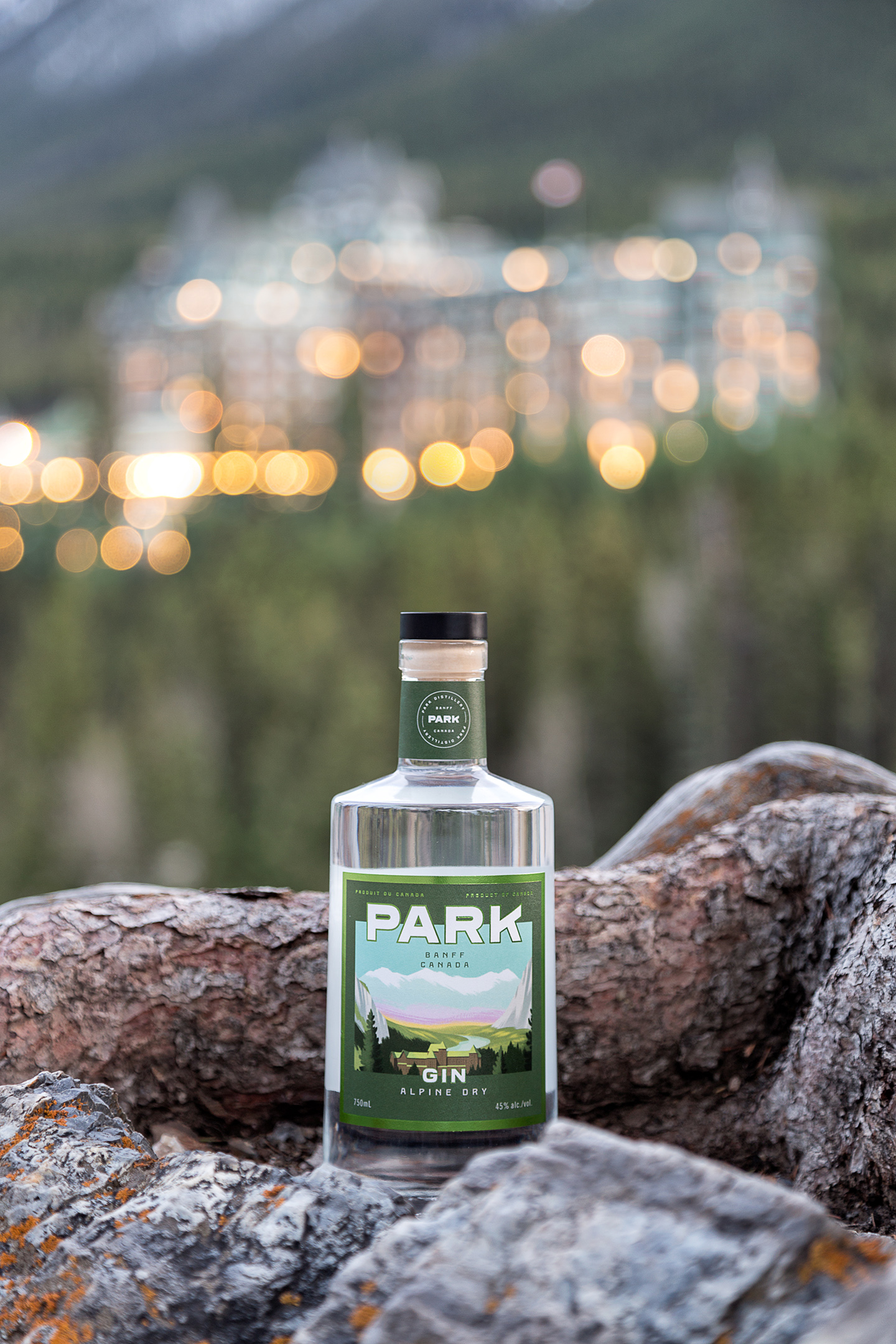 Alpine Dry Gin Castle Lights | PhotoCredit: Lindsay Smith
