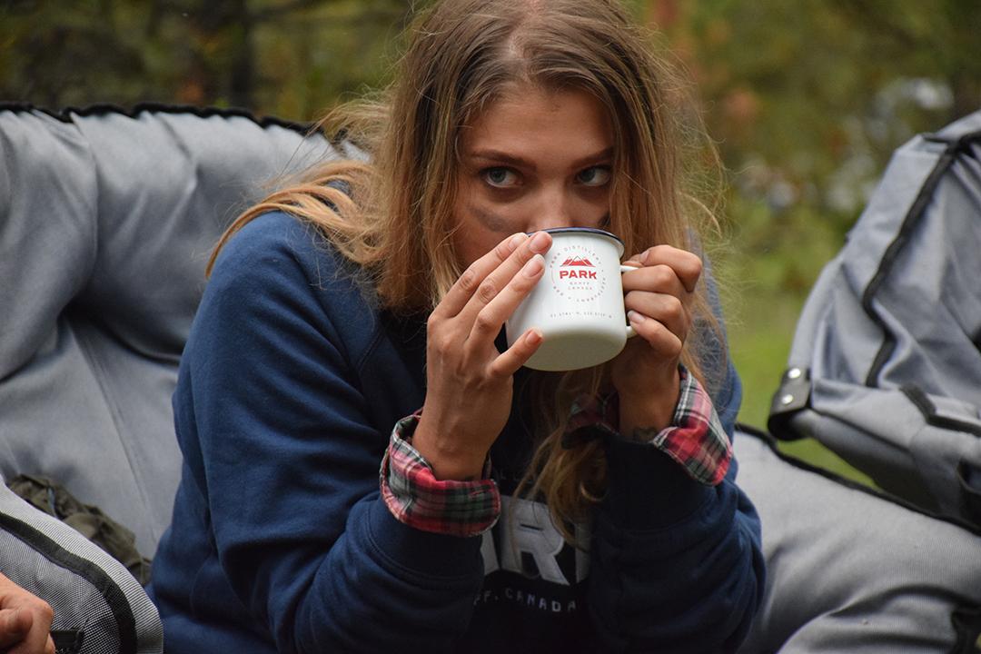 Camp Mug Sip | Photo Credit: Park Distillery Images