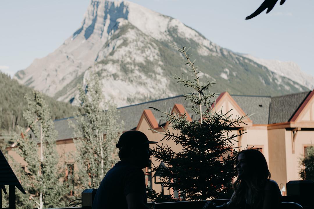 Mt. Rundle from Park Upper Patio | Photo Credit: Obrien Originals Films