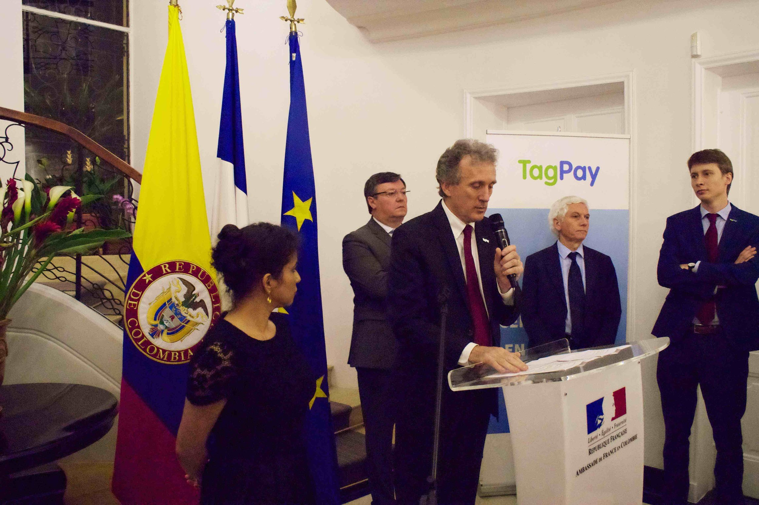 TagPay launches office in Bogota, Colombia