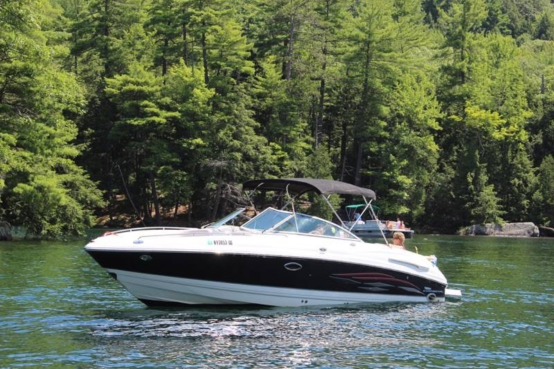 Boating with Bob private boat charter on Lake George