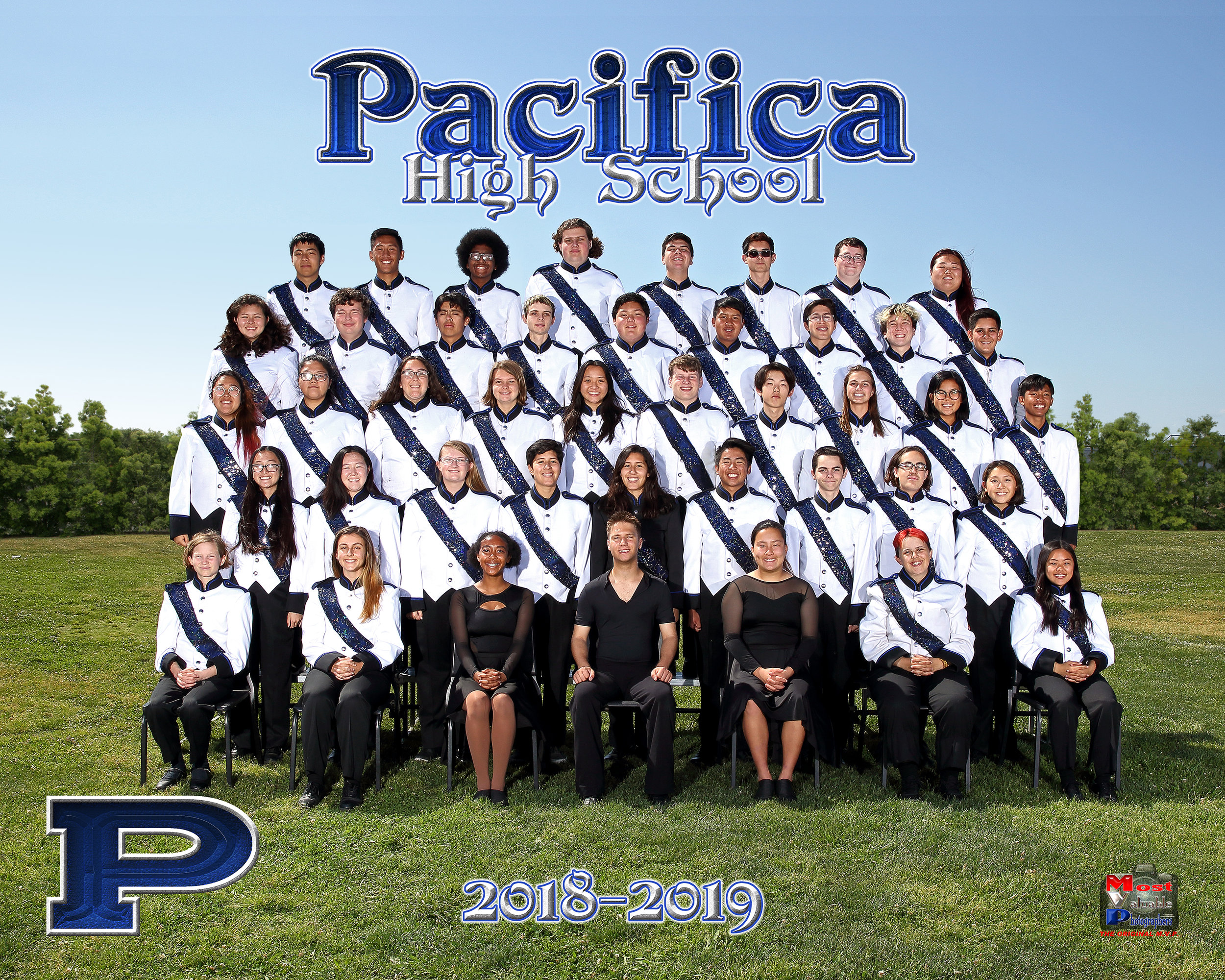 Pacifca High School Marching Band 2017/2018