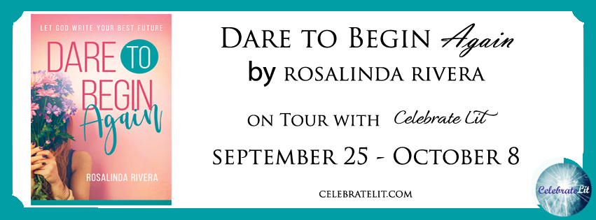 blog tour banner for Dare to Begin Again