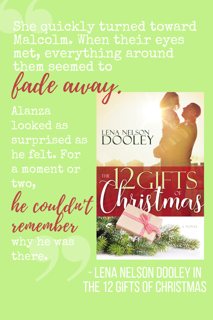 quote from  12 Gifts of Christmas , a contemporary Christian Christmas romance