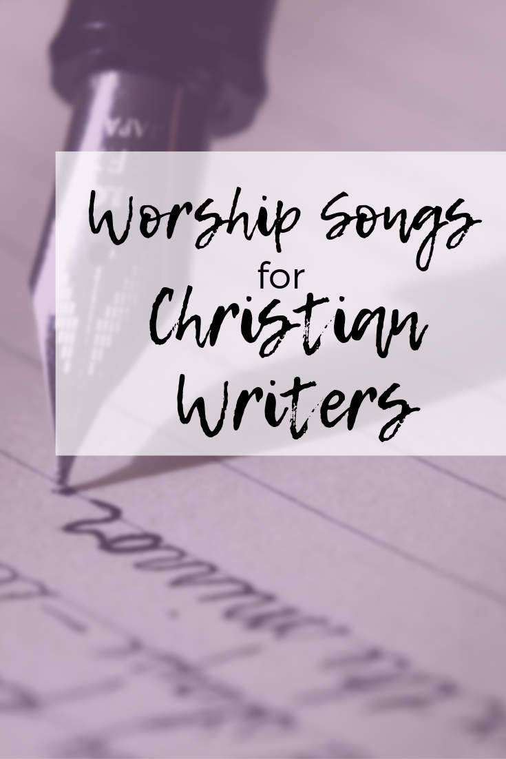 The first step in how to become a Christian writer is to learn to deal with self-doubt. These songs are great inspiration for writers block. Photo used with permission from  Canva .