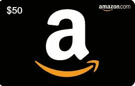 Enter to win a  $50 Amazon gift card !