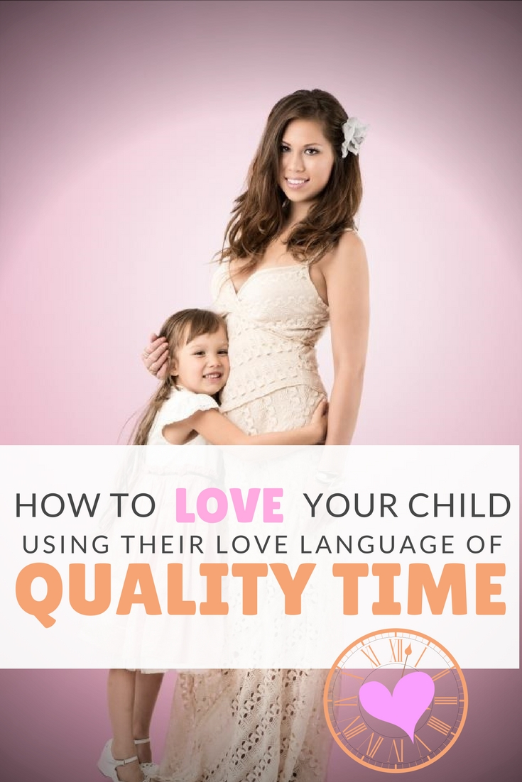 Children's Love Language of Quality Time