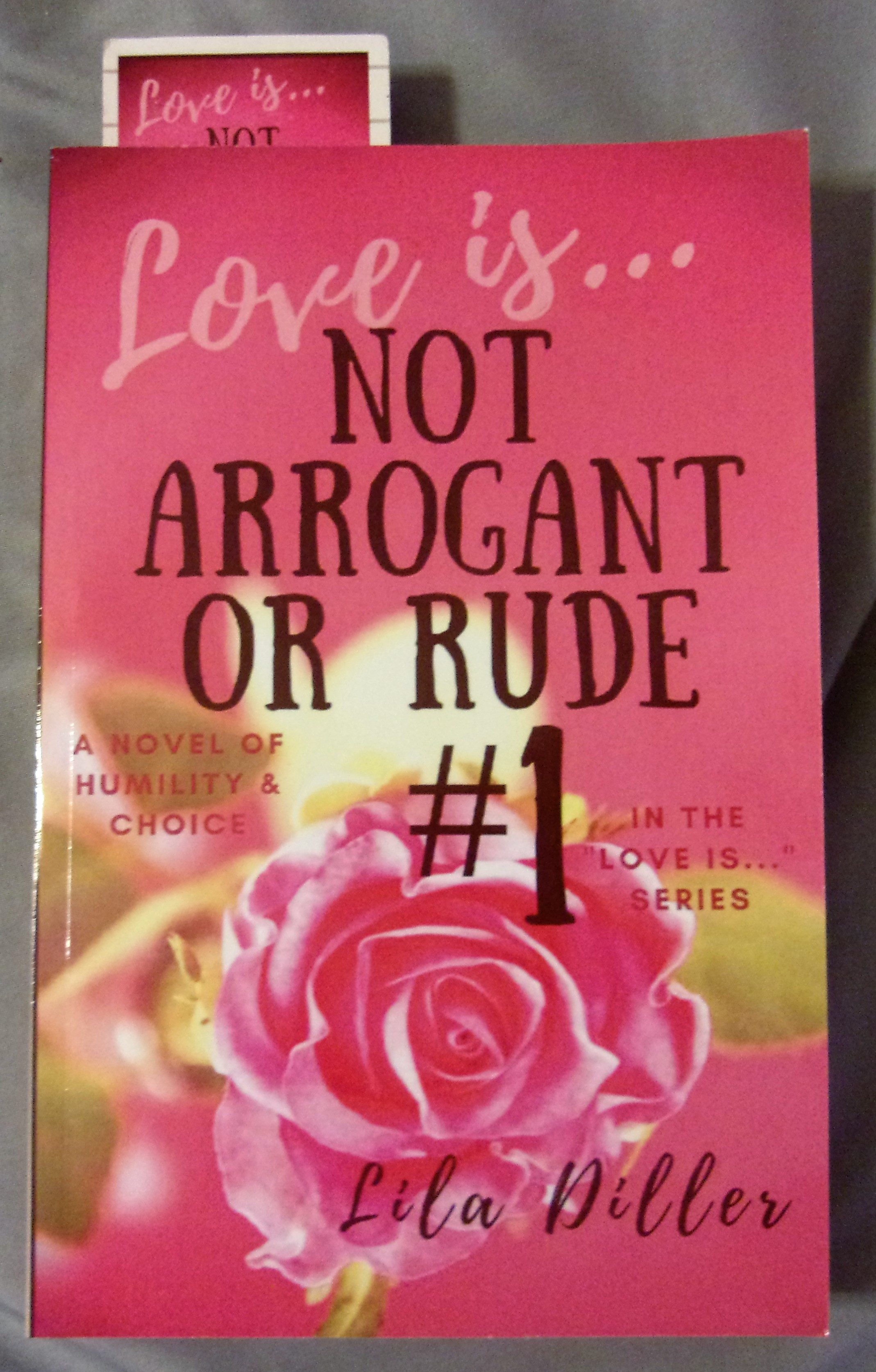 Love is Not Arrogant or Rude by Lila Diller