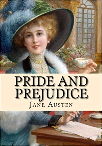 Pride & Prejudice   by Jane Austen, my favorite book with my favorite heroine!