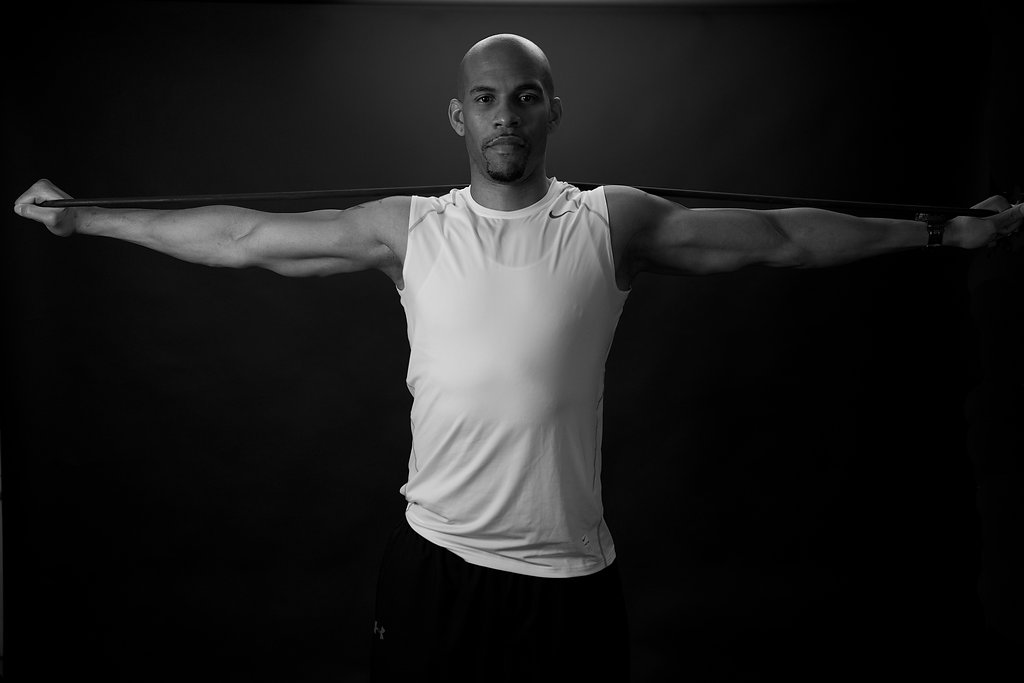 Certified Personal Trainer - Gabriel Edwards knows how to take the science of the body and turn it into results, whether it's toning, weight-loss or strength building. He believes in collaborating with his clients. By understanding their eating and lifestyle habits, Gabriel modifies the more negative habits to keep clients motivated to reach their fitness goals.
