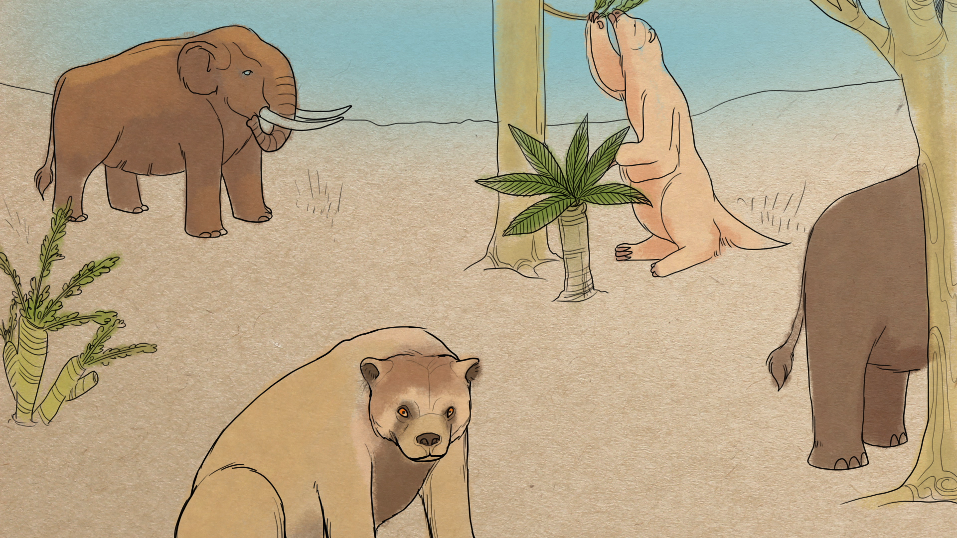 Pleistocene Party!