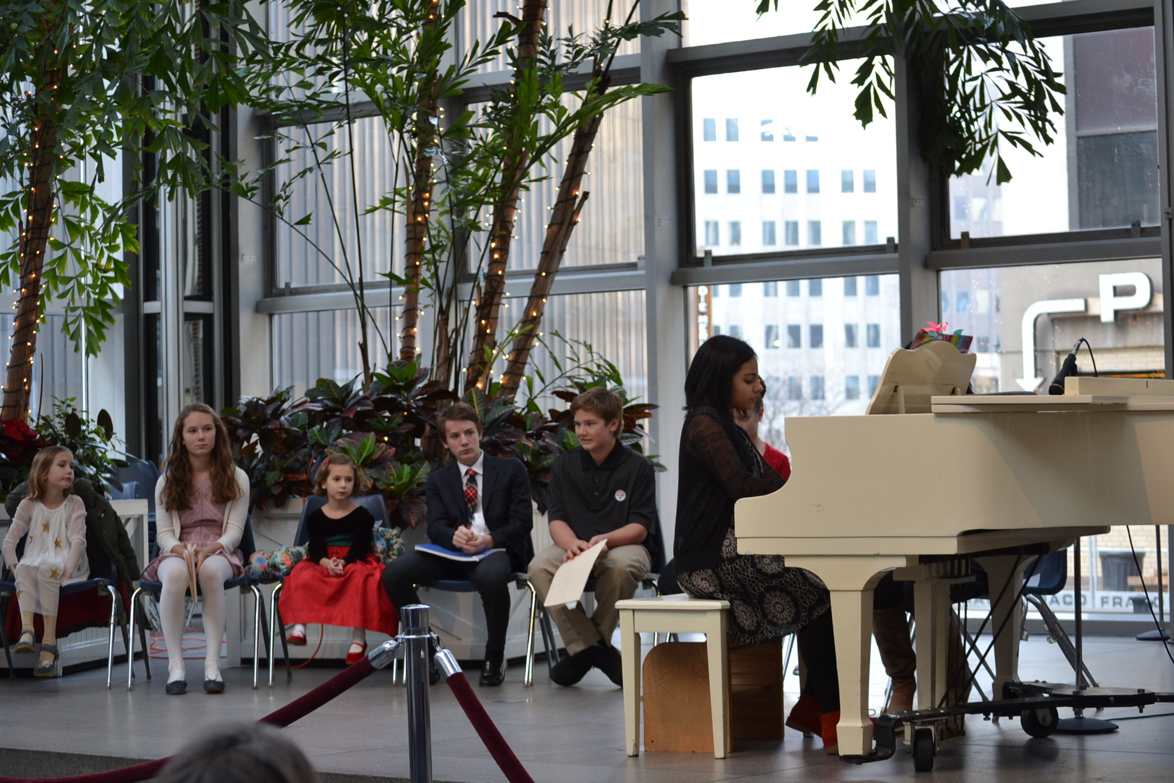 More of the lovely Wintergarden performers