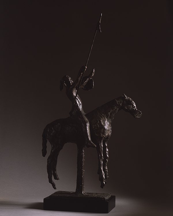 """To The Gods"", 1961, bronze.  Even when Harry was making work dealing with the West in the realist tradition, the principles of abstraction and expressionism were never far away.  This sculpture feels almost like an homage to #giacometti, and certainly falls into the realms of surrealism and spiritualism.  #harryjackson #nycartist #flaming_abstracts #curator #master #arthistory #bronze #sculptor #americanwest #artcollector #collector #realism #figurativeart #abstractexpressionism #oilpainting #americanart #midcenturymodern #modernism #postwar #pollock #dekooning #newyork #littleitaly #wyoming #italy #nativeamerican #westernart #remington"