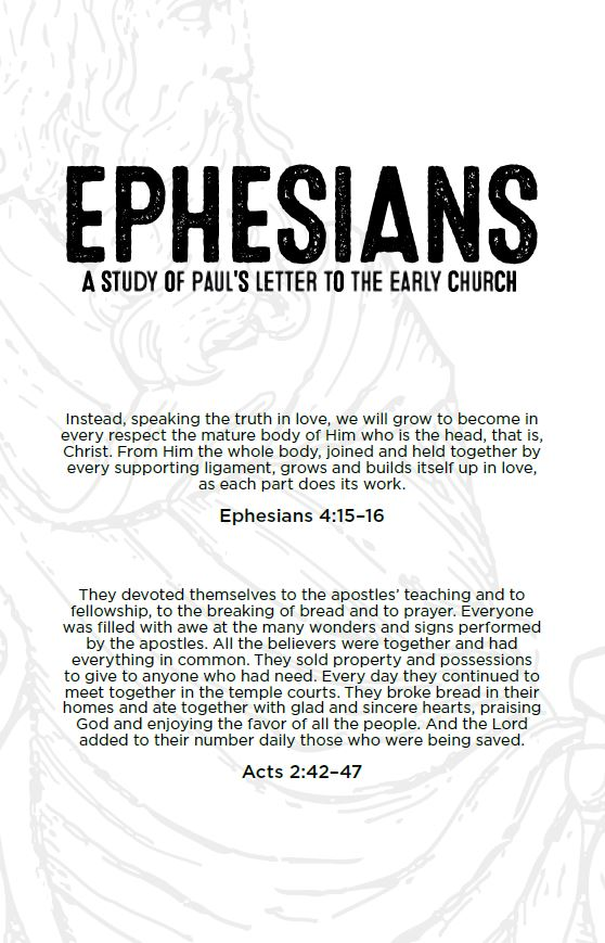 Ephesians: A Study of Paul's Letter to the Early Church -