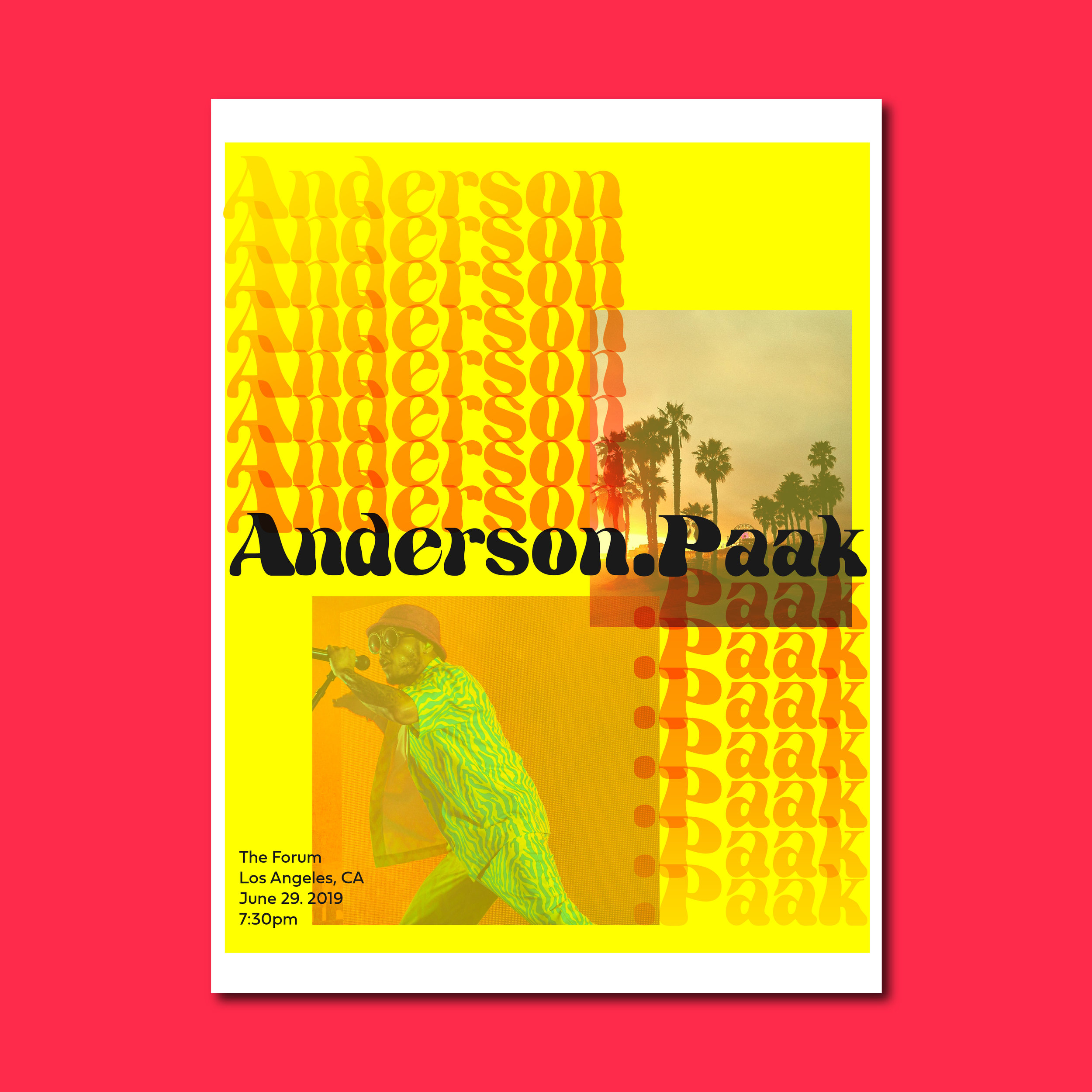 Anderson .Paak Poster