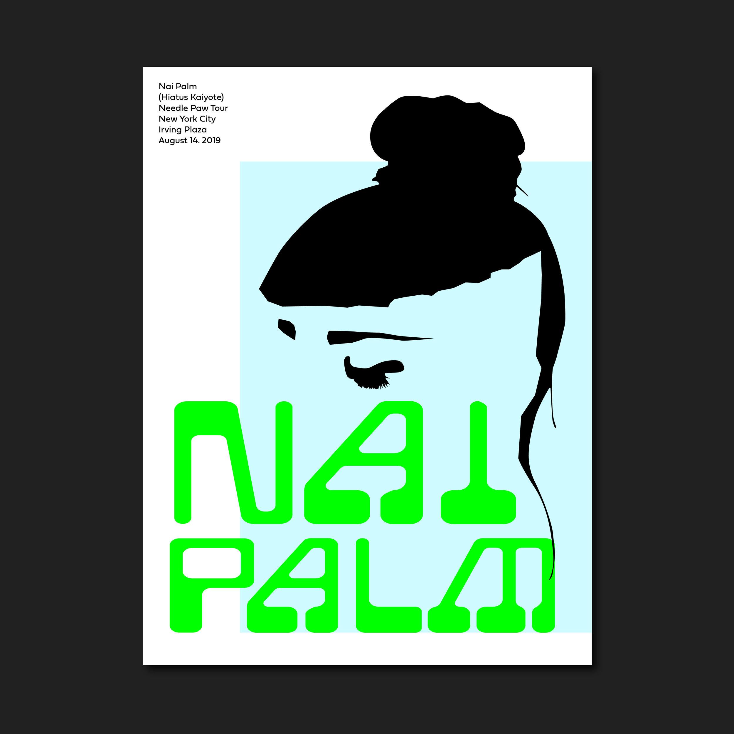 Nai Palm Poster