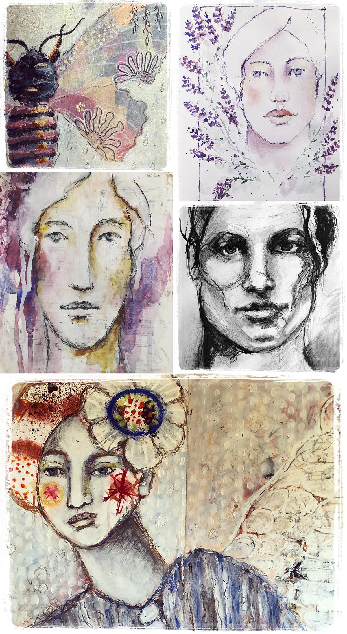 Galia Alena's take on the lessons by Micki Wilde, Andrea Gomoll, Toni Burt, Jeanne-Marie Webb and Mystele Kirkeeng