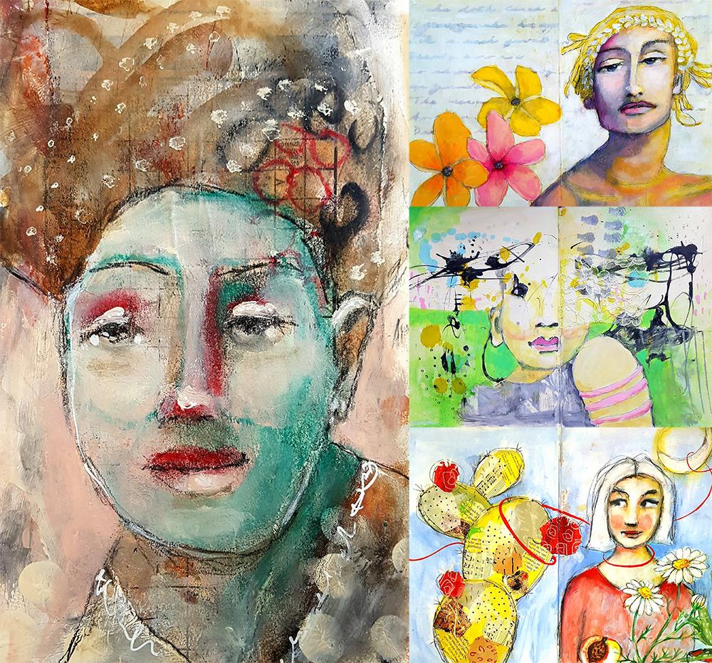 Pia Rom's take on the lessons by Mystele Kirkeeng, Galia Alena, Fonda Clark Haight and Kimberley Heil