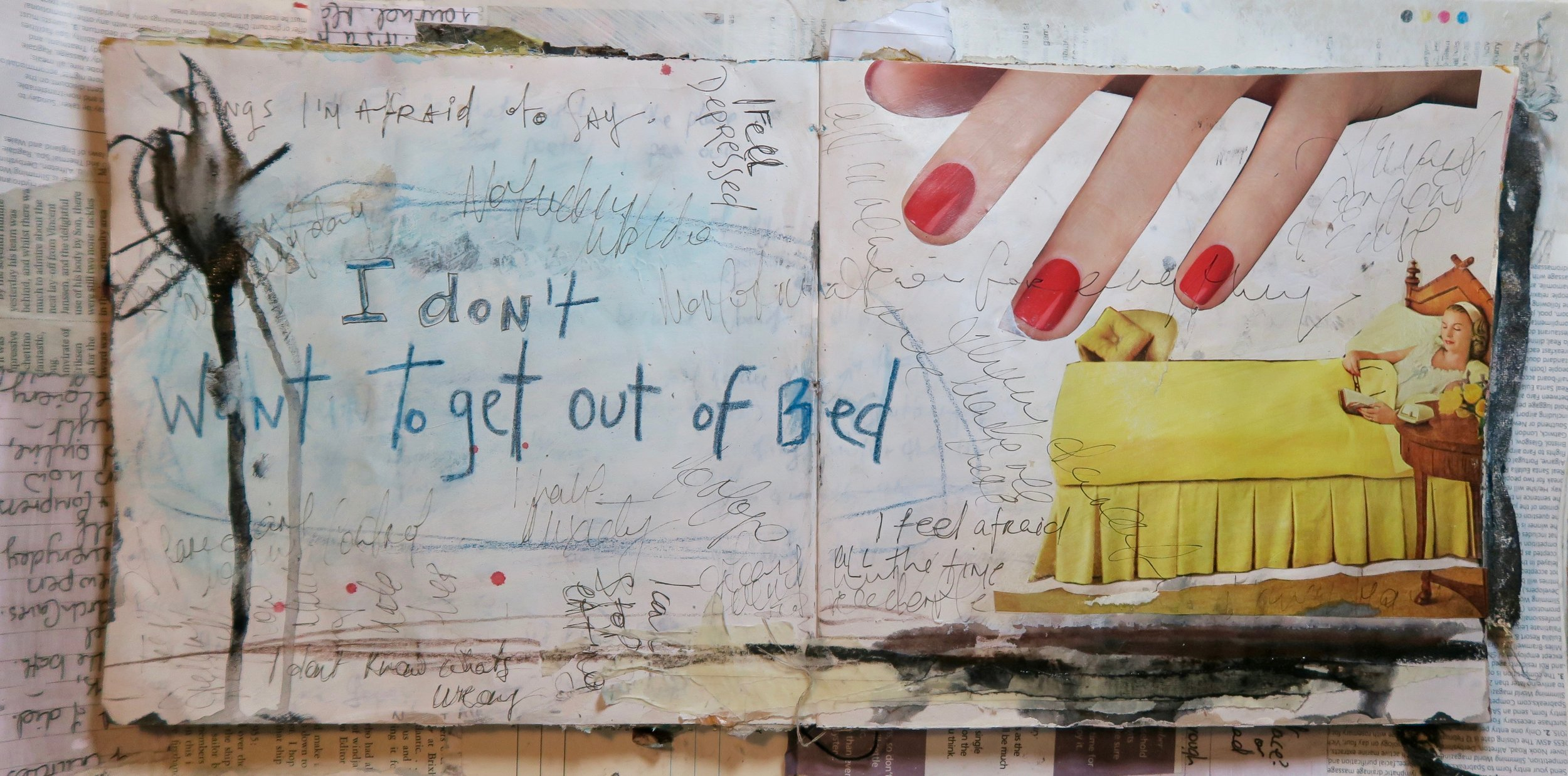 Raw Online with Amanda Grace- mixed media creative recovery workshop