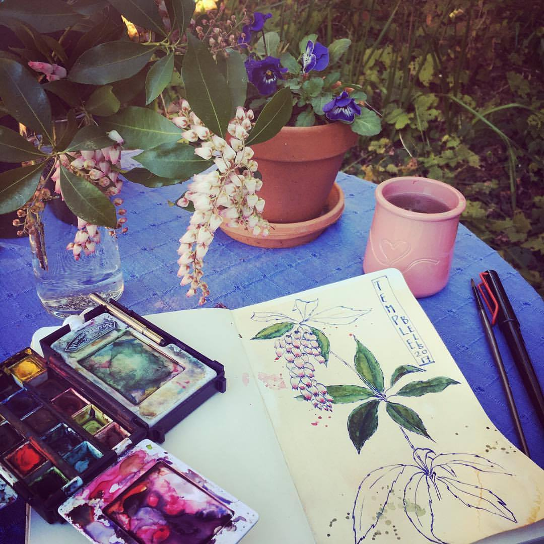 My office for in the garden for I N THE GARDEN- FLOWER STUDIES WITH THE MASTERS