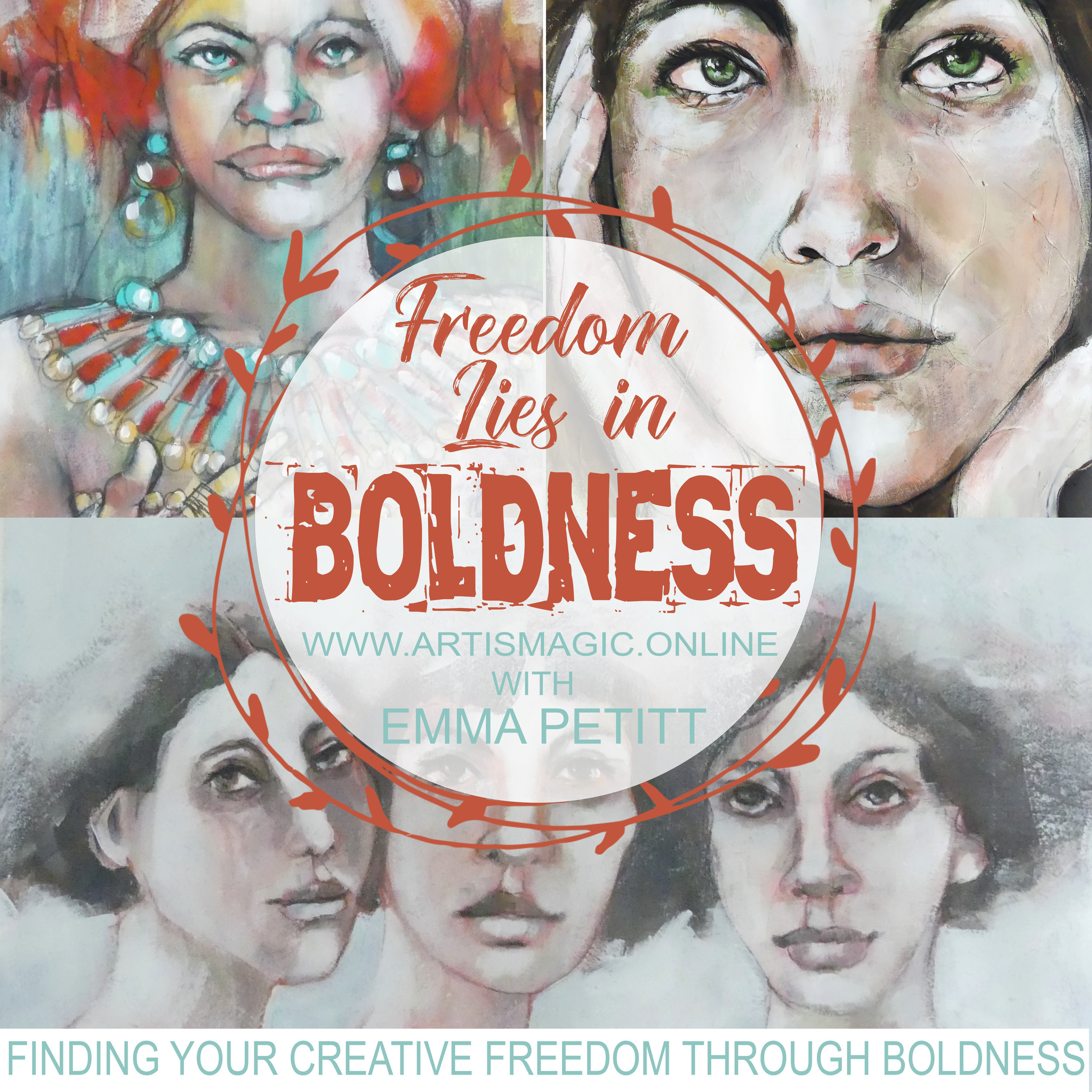 Freedom Lies in Boldness with Emma Petitt