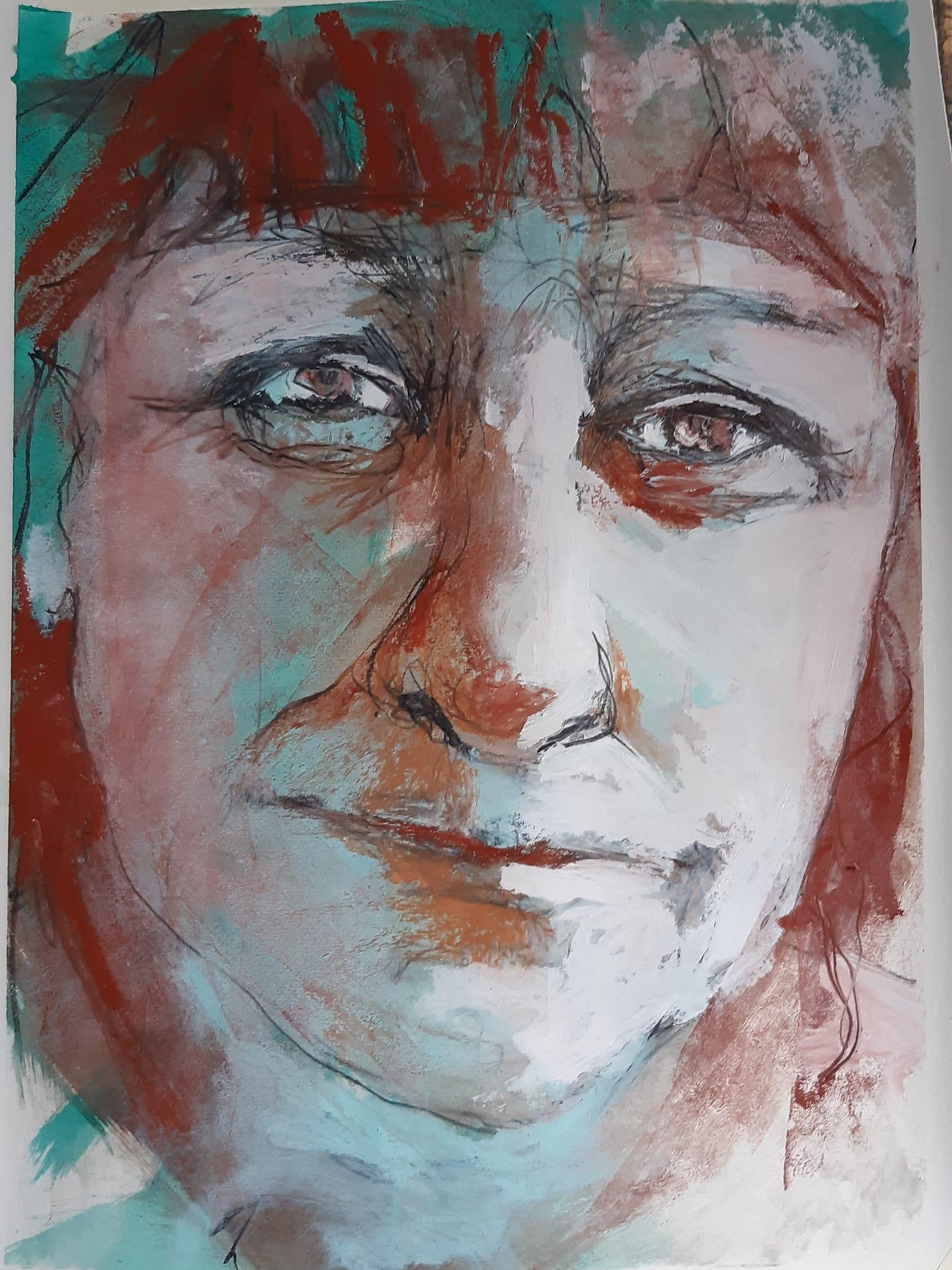 Emma Petitt Self Portrait