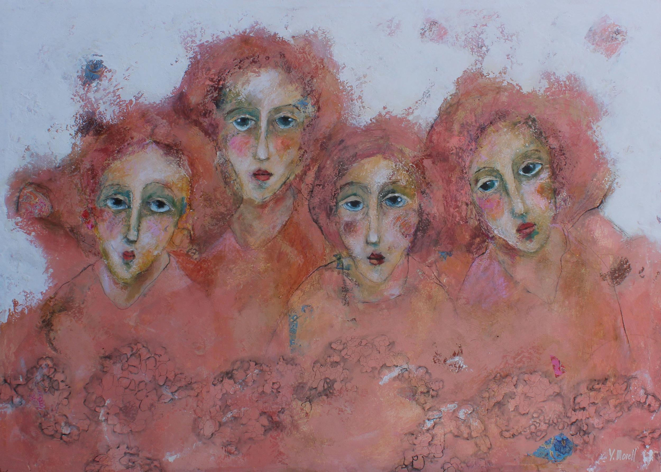 Vieux rose girls Yvonne Morell