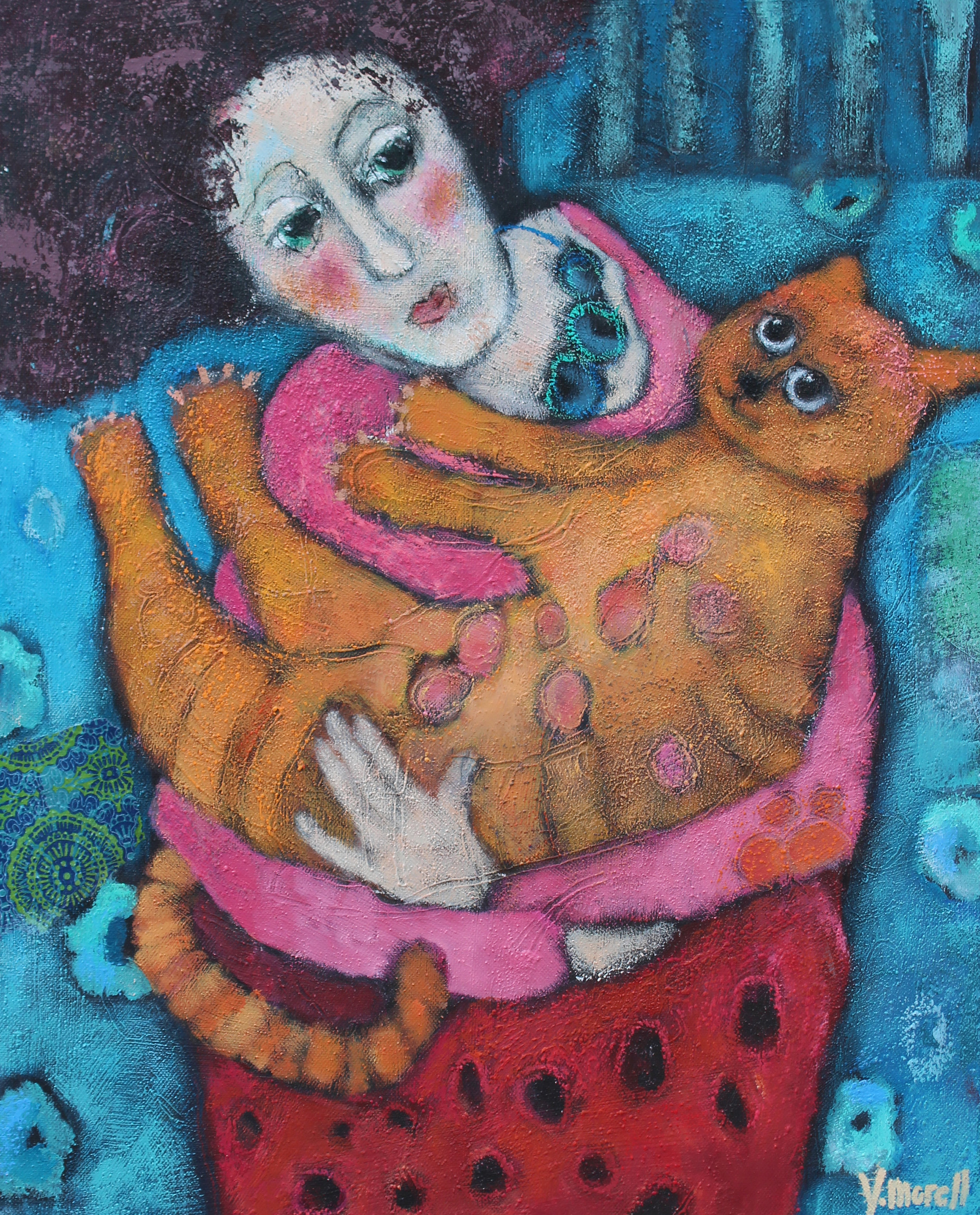 Cat friend Yvonne Morell