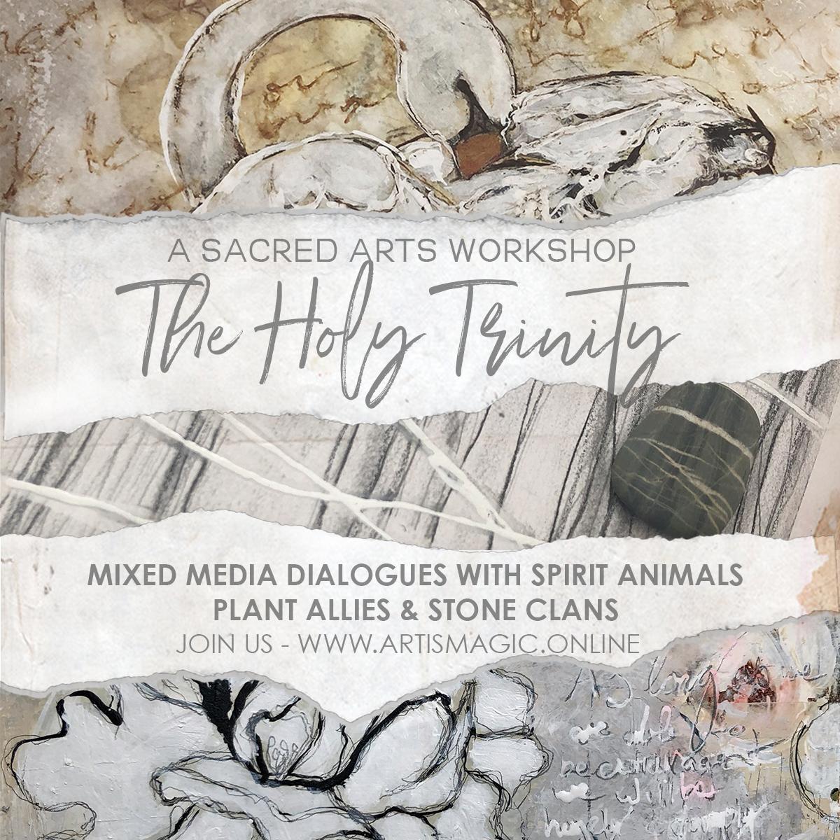 Sacred Arts- The Holy Trinity with Galia Alena