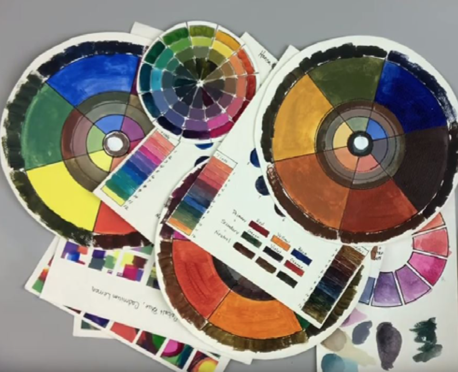 Colour wheel lesson with Marybeth Shaw