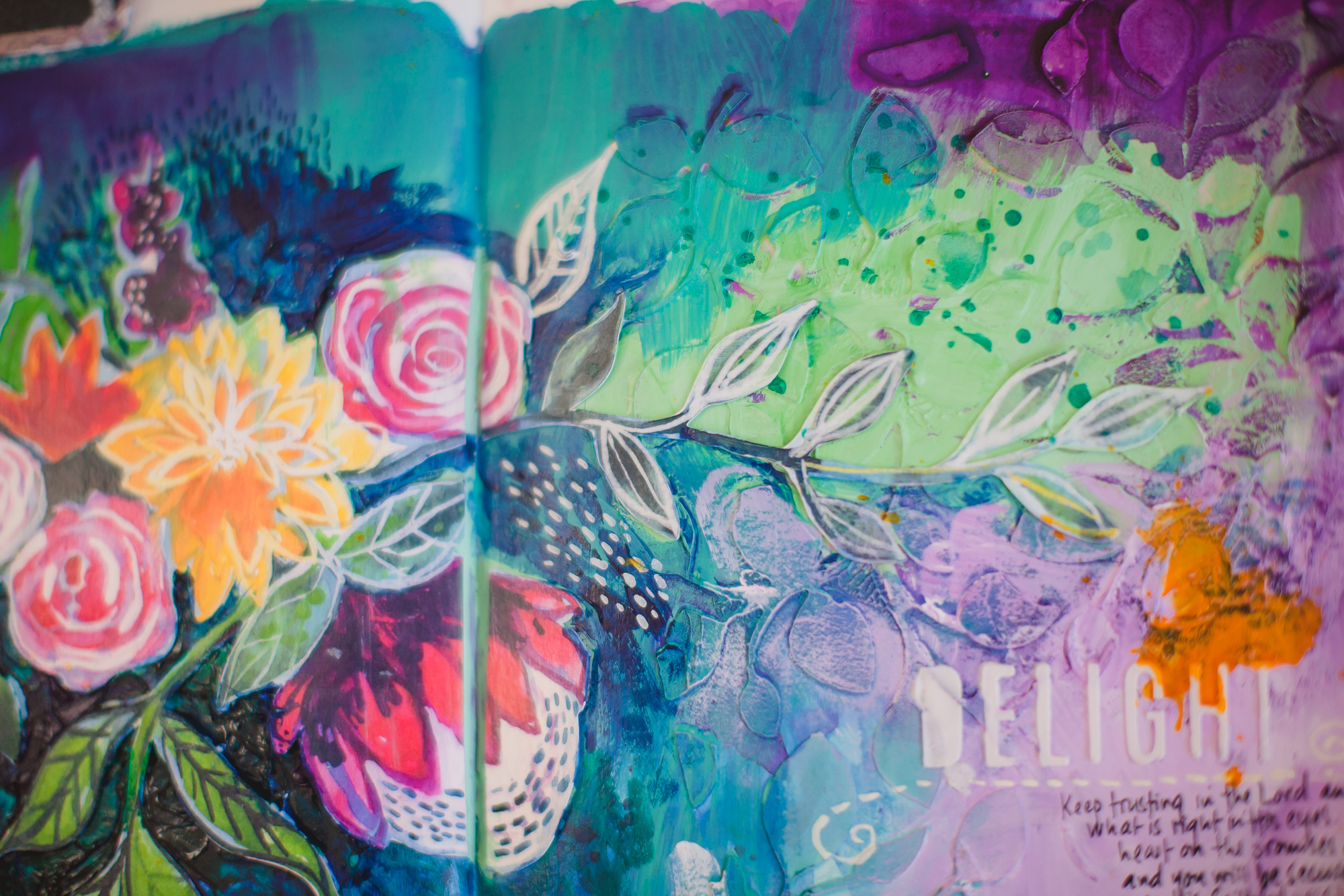 Wilna Furstenberg art journal lesson
